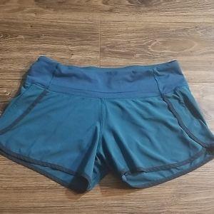 Lululemon teal shorts